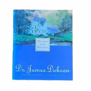 """Hard Cover """"Home With A Heart"""" by Dr. James Dobson"""